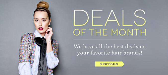 Check out our deals of the month!